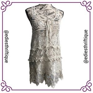 3/$25 Teen Bell Crotchet Dress